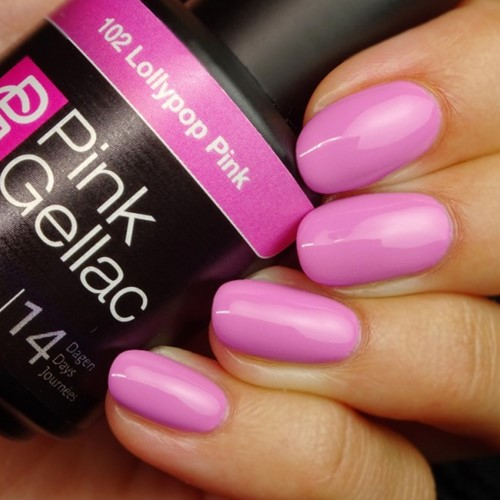 Pink Gellac #102 Lollypop Pink