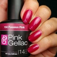 Pink Gellac #104 Passion Pink