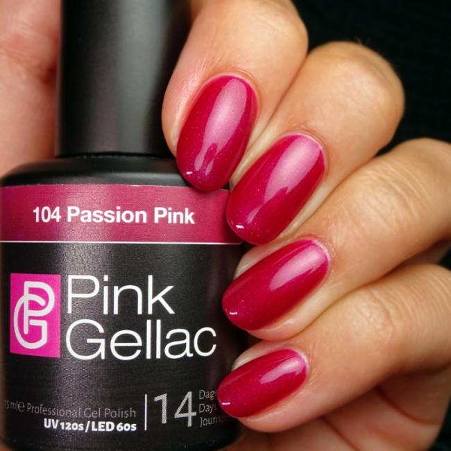 Afbeelding van Pink Gellac #104 Passion Pink