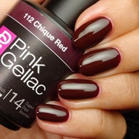 Pink Gellac #112 Chique Red