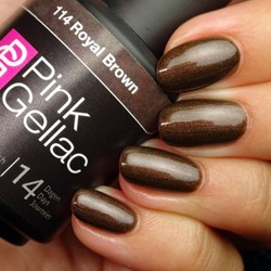 Pink Gellac #114 Royal Brown