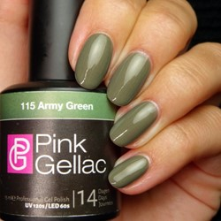 Pink Gellac #115 Army Green