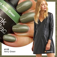 Pink Gellac Army Green 115