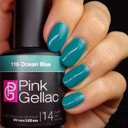 Pink Gellac #116 Ocean Blue
