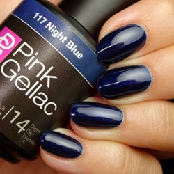 Pink Gellac #117 Night Blue