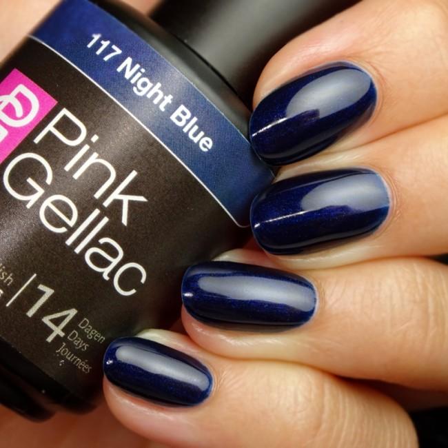 Afbeelding van Pink Gellac #117 Night Blue