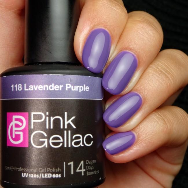 Afbeelding van Pink Gellac #118 Lavender Purple