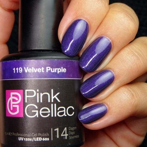 Pink Gellac #119 Velvet Purple