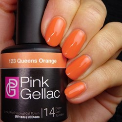 Pink Gellac #123 Queens Orange