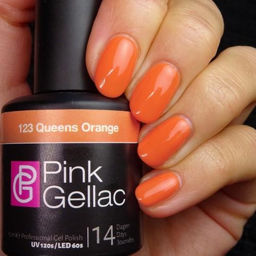 Pink Gellac #123 Queens Orange