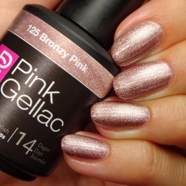 Afbeelding van Pink Gellac #125 Bronzy Pink