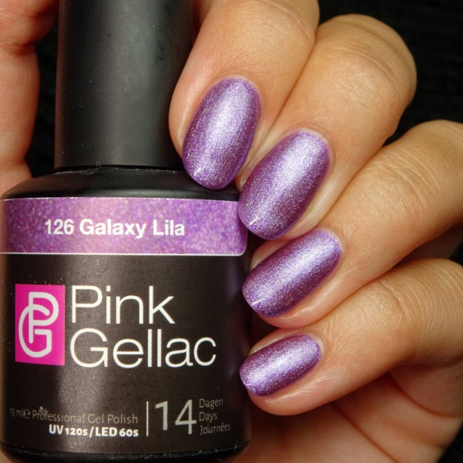 Afbeelding van Pink Gellac #126 Galaxy Lila