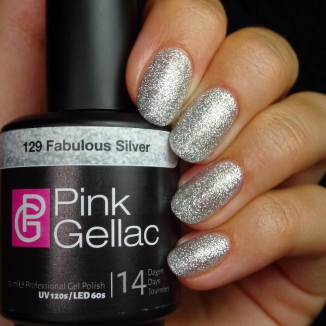 Afbeelding van Pink Gellac #129 Fabulous Silver