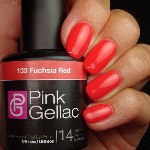 Pink Gellac #133 Fuchsia Red