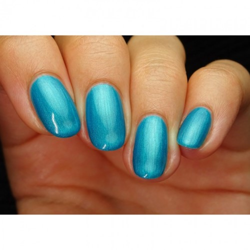 pink gellac electric blue