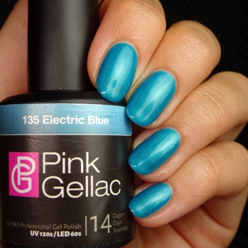 Pink Gellac #135 Electric Blue