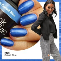 Pink Gellac Cobalt Blue