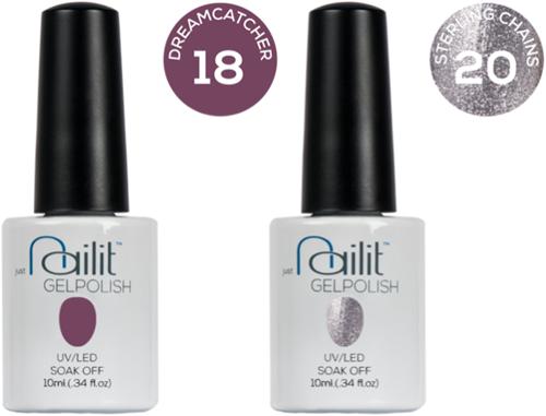 Nailit - Gelpolish Starterkit Combi 3 #18 + #20