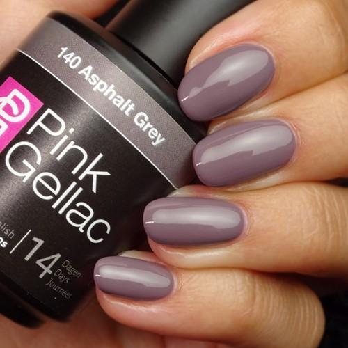 Pink Gellac #140 Asphalt Grey