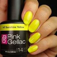 Pink Gellac #147 Sunshine Yellow
