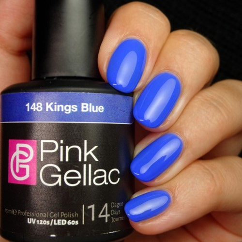 Pink Gellac #148 Kings Blue