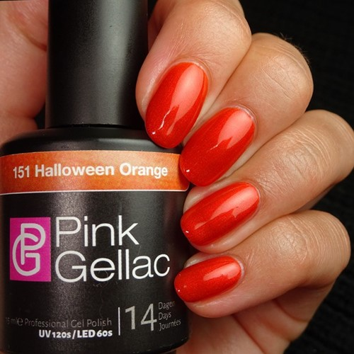 Pink Gellac #151 Halloween Orange