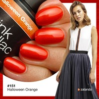 Halloween Orange Pink Gellac