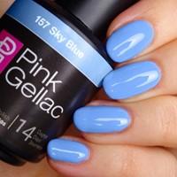 Sky Blue Pink Gellac 157