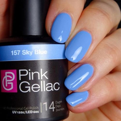 Pink Gellac #157 Sky Blue