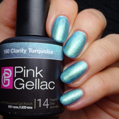 Pink Gellac #160 Clarity Turquoise