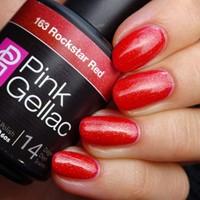 Pink Gellac #163 Rockstar Red