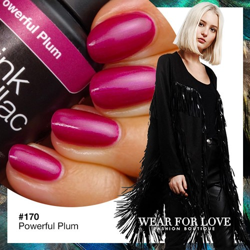 Pink Gellac Powerfull Plum