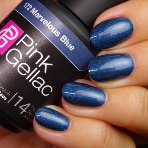 Pink Gellac #172 Marvelous Blue