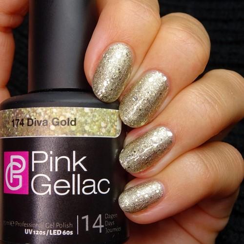 Pink Gellac #174 Diva Gold