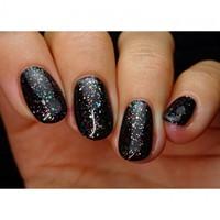 Pink Gellac #177 Glitterize Black-2