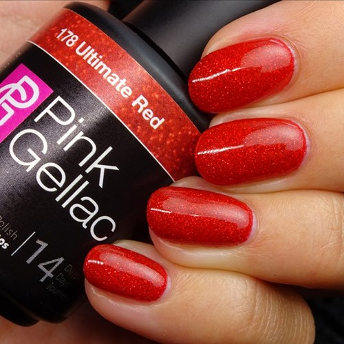 Pink Gellac #178 Ultimate Red