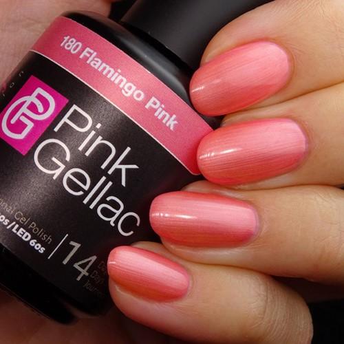 Pink Gellac #180 Flamingo Pink