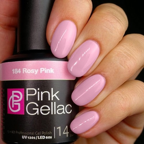 Pink Gellac #184 Rosy Pink