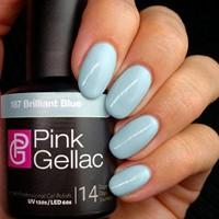 Pink Gellac #187 Brilliant Blue