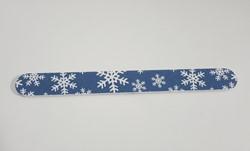 Kerstvijl  - Blauw kerstvlok
