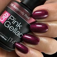 Pink Gellac #205 Burgundy Red