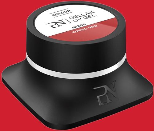 ProNails Gellak #206 Ripped Red 10 ml