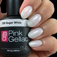 Pink Gellac #209 Sugar White