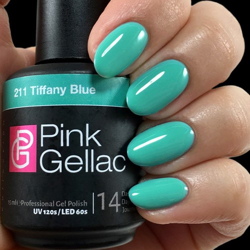 Pink Gellac #211 Tiffany Blue