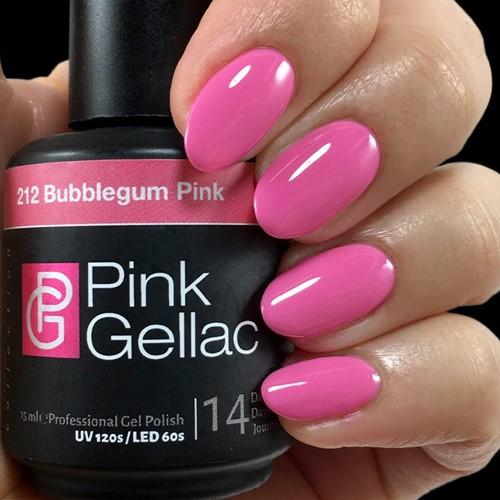 Pink Gellac #212 Bubbelgum Pink