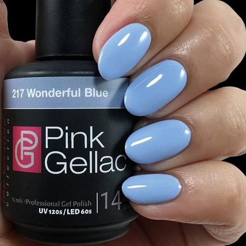 Pink Gellac #217 Wonderful Bue
