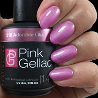 Pink Gellac #218 Adorable Lila