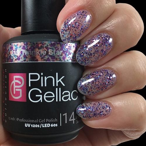 Pink Gellac #219 Twinkle Star