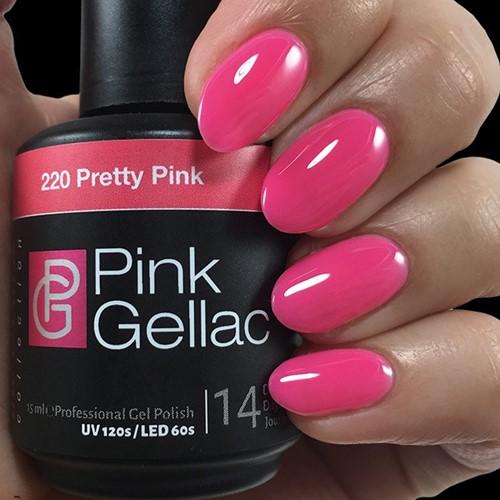 Pink Gellac #220 Pretty Pink
