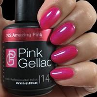 Pink Gellac #222 Amazing Pink